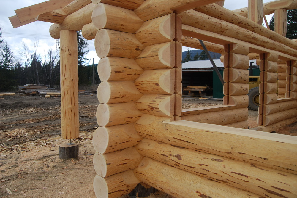 Constructing your Log Home or Cabin | Log Home Process