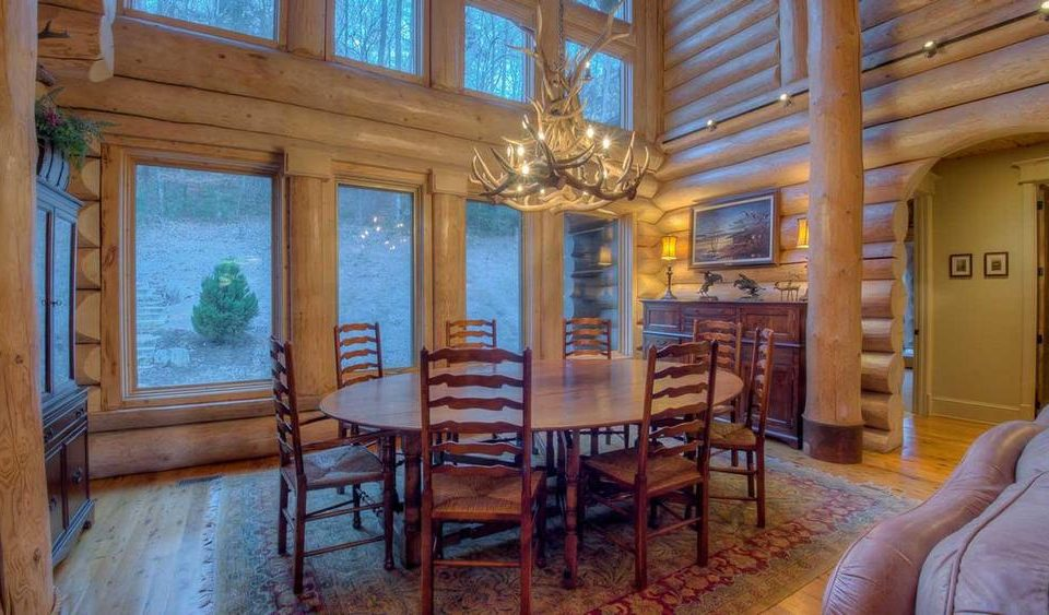 Log House Dining Room